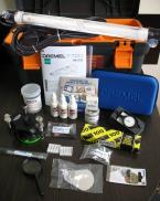 Комплект для ремонта автостёкол EZK-100, США - дрель аккум.